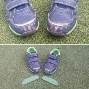 Punteras footbrake reparar zapatos