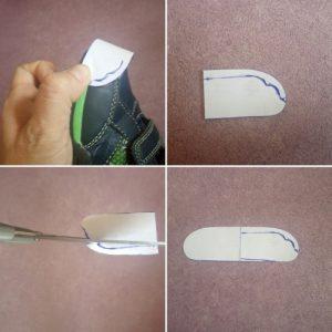 Reparar zapatos plantillas