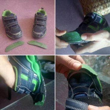 Como se reparan unos zapatos