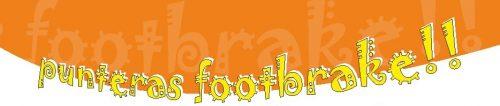 Punteras Footbrake