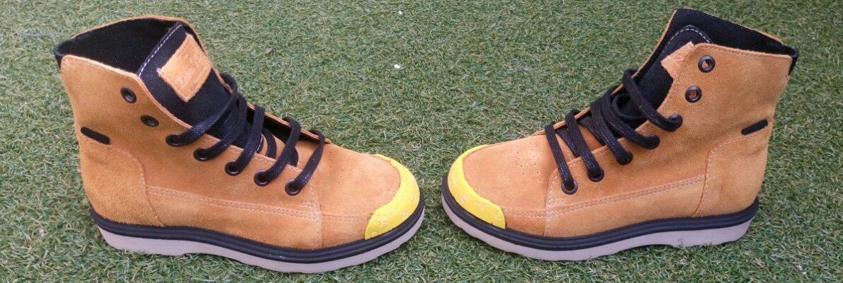 Momo botas amarillo