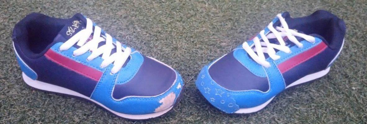 Zapatillas Azul momo