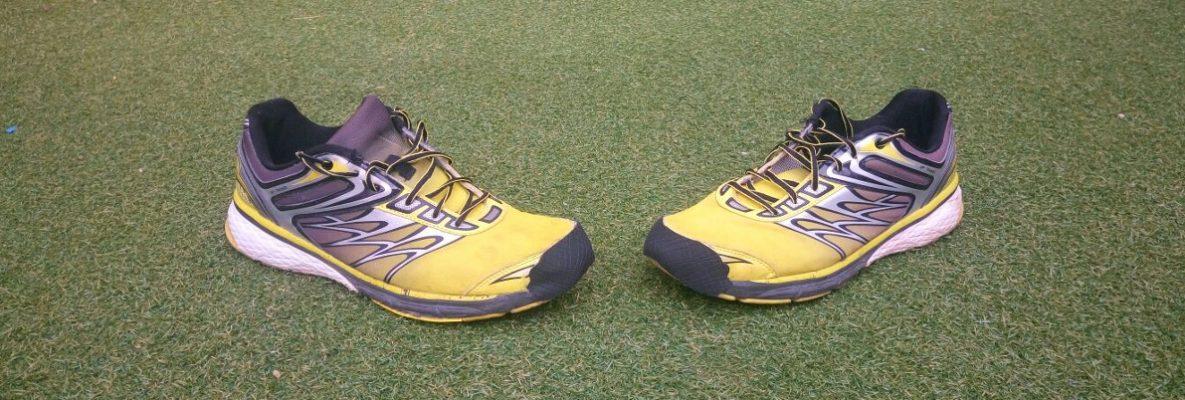 Zapatillas Amarillas Reparadas