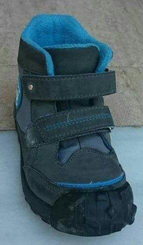 arreglar bota azul