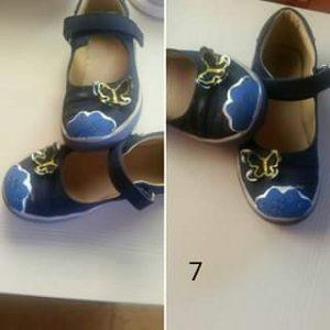 Clientes bailarinas azules