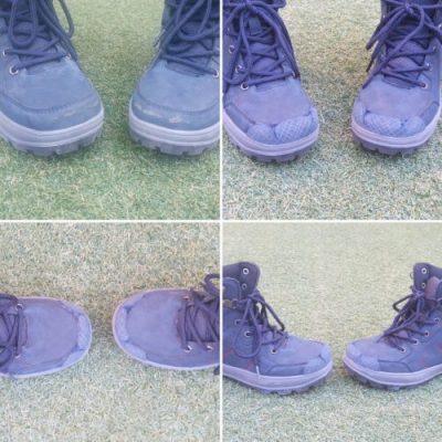 botas azules