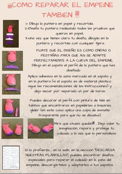 plantillas Empeine