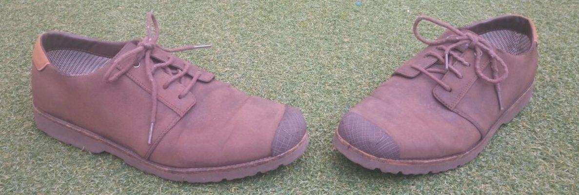 Zapatos marron oscuro