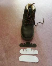 botas plantillas