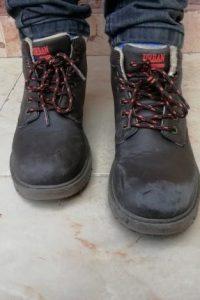 botas rozadas