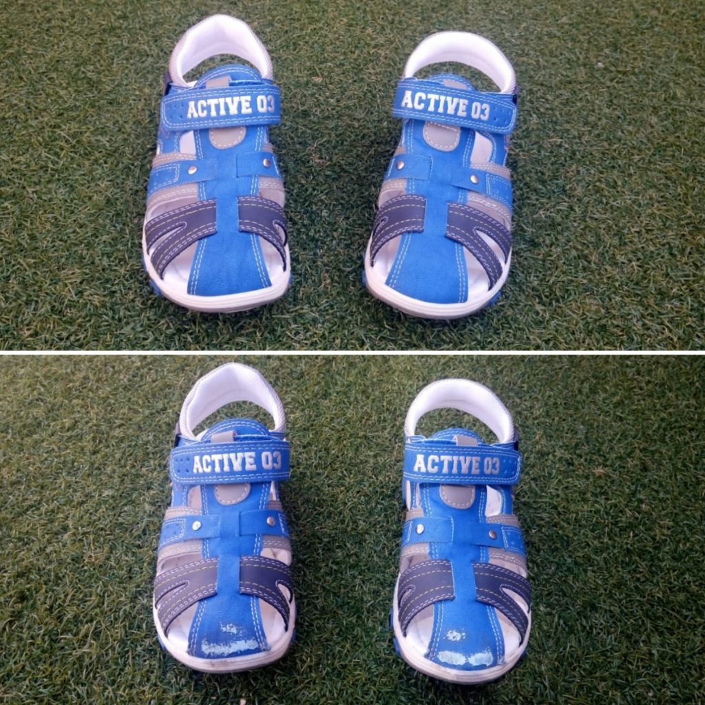 sandalias azules 2019